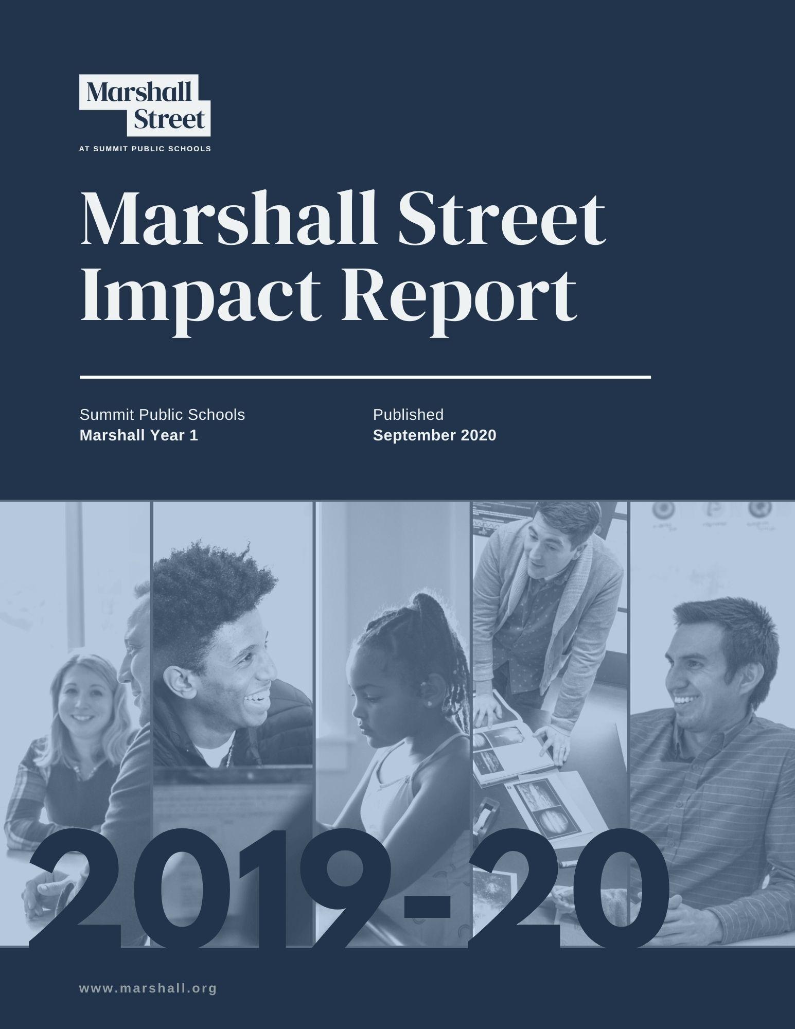 Marshall Street Impact Report: Year 1